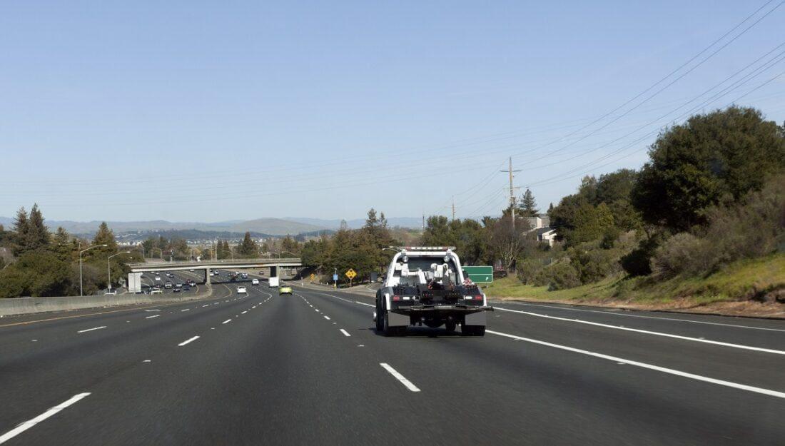 Holowanie na autostradach
